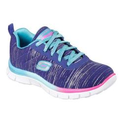 Girls' Skechers Skech Appeal Glitter Rush Sneaker Blue/Multi
