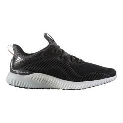 Men's adidas AlphaBOUNCE Running Shoe Core Black/Silver Metallic/FTWR White