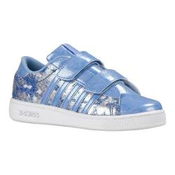 Girls' K-Swiss Hoke Snake Strap Sneaker Blue/White