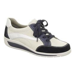 Women's ara Mia 36350 Sneaker Navy/White/Silver Combo