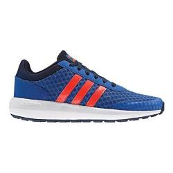 Boys' adidas NEO Cloudfoam Race Sneaker Blue/Solar Red/Collegiate Navy
