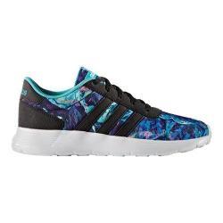 Girls' adidas NEO Lite Racer Sneaker Core Black/Core Black/White