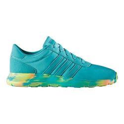 Girls' adidas NEO Lite Racer Sneaker Shock Green/Shock Green/White