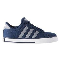 Boys' adidas SE Daily Vulc Collegiate Navy/Grey/White
