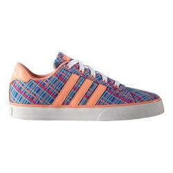 Girls' adidas SE Daily Vulc Blue/Sun Glow/White