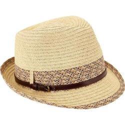 Women's San Diego Hat Company Fedora UBF1013 Natural