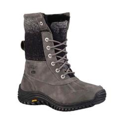 Women's UGG Adirondack Boot II Charcoal Waterproof Leather/Water-Resistant Wool