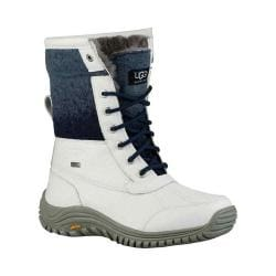 Women's UGG Adirondack Boot II White Waterproof Leather/Water-Resistant Wool