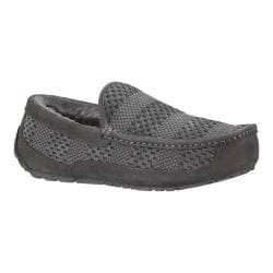 Men's UGG Ascot Weave Slipper Charcoal