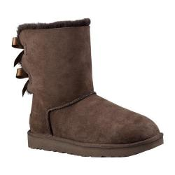 Women's UGG Bailey Bow II Boot Chocolate 2