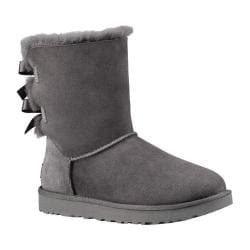 Women's UGG Bailey Bow II Boot Grey 2
