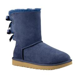 Women's UGG Bailey Bow II Boot Navy 2