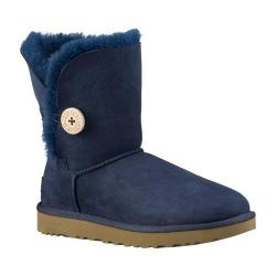 Women's UGG Bailey Button II Boot Navy 2