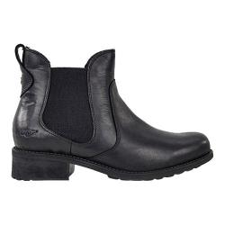 Women's UGG Bonham Black Waxed Leather