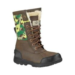 Children's UGG Butte II Backcountry Camo Boot Grizzly