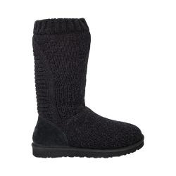 Women's UGG Capra Sweater Boot Black