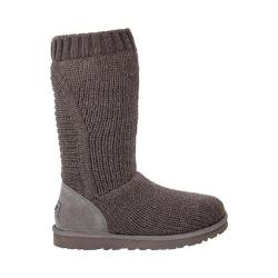 Women's UGG Capra Sweater Boot Grey