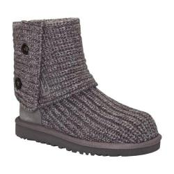 Women's UGG Classic Cardy Sweater Boot Grey