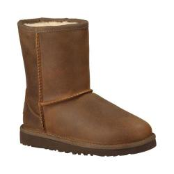 Children's UGG Classic Short Leather Chestnut