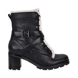 Women's UGG Ingrid Boot Black Leather