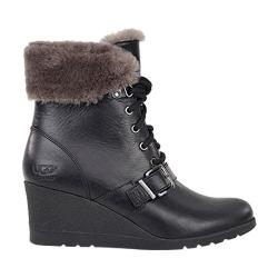Women's UGG Janney Wedge Bootie Black