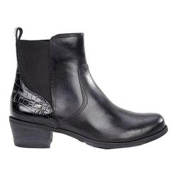 Women's UGG Keller Croco Chelsea Boot Black