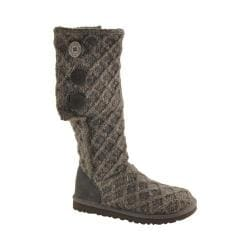 Women's UGG Lattice Cardy Charcoal