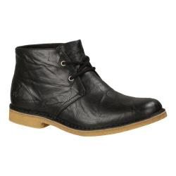 Men's UGG Leighton Ankle Boot Black Leather