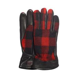 Men's UGG McLain Buffalo Plaid Glove Black Multi