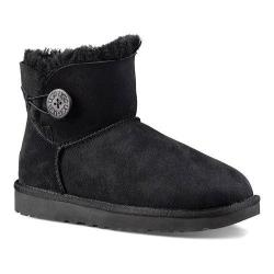 Women's UGG Mini Bailey Button II Black