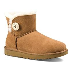 Women's UGG Mini Bailey Button II Chestnut
