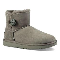 Women's UGG Mini Bailey Button II Grey