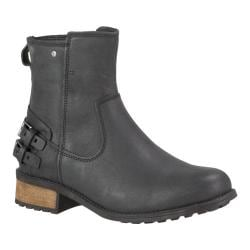 Women's UGG Orion Ankle Boot Black Leather