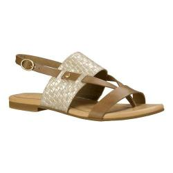 Women's UGG Verona Metallic Basket Slingback Sandal Soft Gold