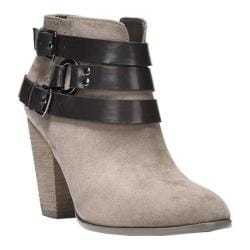 Women's Carlos by Carlos Santana Hollie Ankle Bootie Grey Microfiber