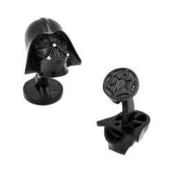 Men's Cufflinks Inc 3D Darth Vader Plated Cufflinks Black 22354585