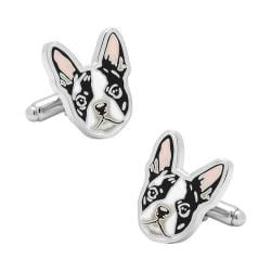 Men's Cufflinks Inc Boston Terrier Cufflinks Multi