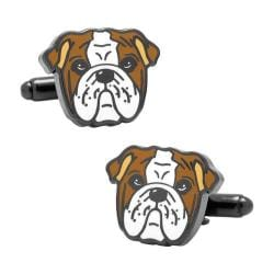 Men's Cufflinks Inc English Bulldog Cufflinks Multi