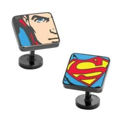 Men's Cufflinks Inc Superman Comic Squares Cufflinks Multi
