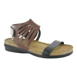 Women's Naot Mint Deep Brown/Deep Black