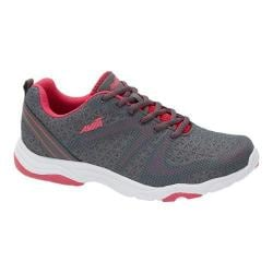 Women's Avia Avi-Celeste Cross Training Shoe Iron Grey/Pink Energy/Cool Mist Grey/Black