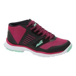 Women's Avia GFC Reina Cross Training Shoe Black/Festival Fuchsia/Mint Breeze