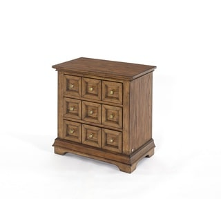 Standing Room Only Apothacary Distressed 3-drawer Nightstand