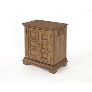 Standing Room Only 2 Door Nightstand Oak