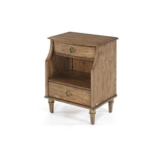 Standing Room Only Distressed 2-drawer Nightstand