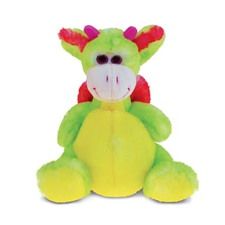 Puzzled Dragon Super-Soft Stuffed Plush Cuddly Animal Toy 22437639