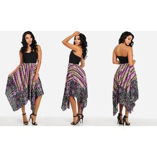 Women's Purple Chiffon Dress