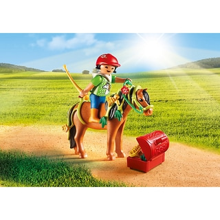 Playmobil PM6968 Groomer with Bloom Pony Playset