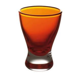 Majestic Gifts Orange 2-ounce Liquor Glasses (Pack of 6)