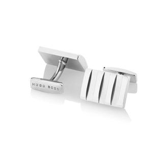 Hugo Boss Igos Brass Rectangular Cufflinks